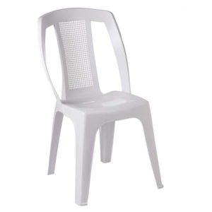 Cadeira Bistrô Plástica Branca