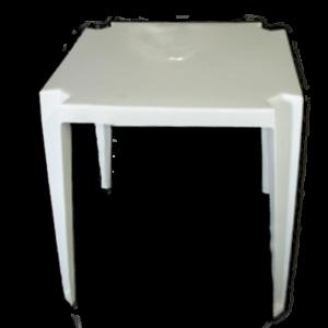 Mesa Quadrada de Plástico