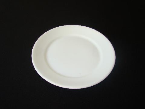 Prato de Mesa Branco Raso